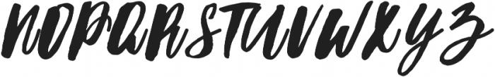 Hubster otf (400) Font UPPERCASE