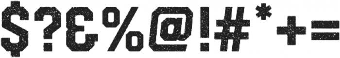 Hudson NY Slab Press otf (400) Font OTHER CHARS