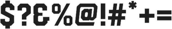 Hudson NY Slab otf (400) Font OTHER CHARS