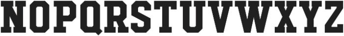 Hudson NY Slab otf (400) Font LOWERCASE