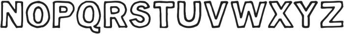 Hugo ttf (400) Font UPPERCASE