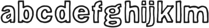 Hugo ttf (400) Font LOWERCASE
