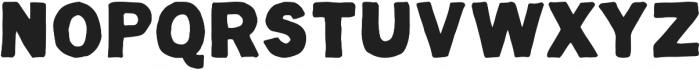 Hugo ttf (700) Font UPPERCASE