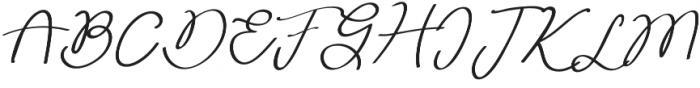 Huh Girls Regular otf (400) Font UPPERCASE