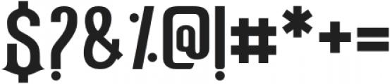 Hulf Regular otf (400) Font OTHER CHARS
