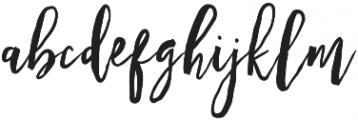 Hulleva otf (400) Font LOWERCASE
