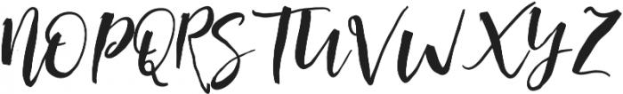 HullevaAlt otf (400) Font UPPERCASE