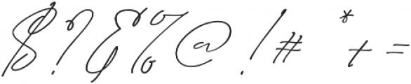 Hullist otf (400) Font OTHER CHARS