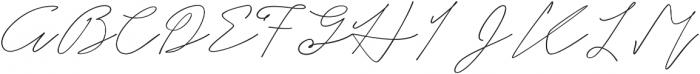 Hullist otf (400) Font UPPERCASE