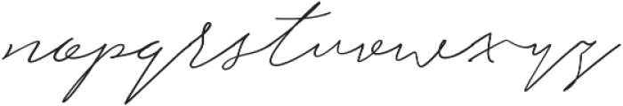 Hullist otf (400) Font LOWERCASE