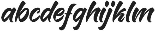 Humanely otf (400) Font LOWERCASE