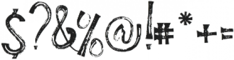 Humble Hearts otf (400) Font OTHER CHARS