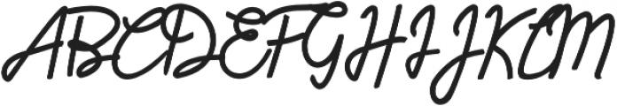 HumienlyAlt otf (400) Font UPPERCASE