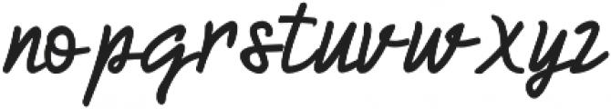 HumienlyAlt otf (400) Font LOWERCASE