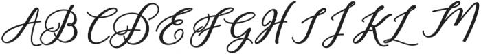 Humilde bold Bold otf (700) Font UPPERCASE