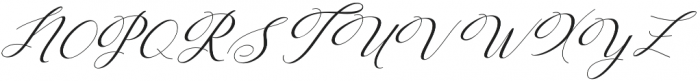 Humilde italic Italic otf (400) Font UPPERCASE