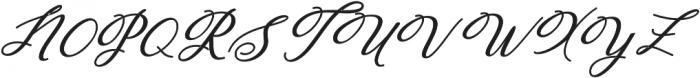 Humilde italic bold Bold Italic otf (700) Font UPPERCASE