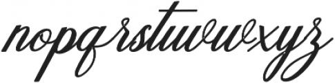 Humilde italic bold Bold Italic otf (700) Font LOWERCASE