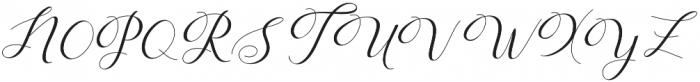 Humilde  script otf (400) Font UPPERCASE