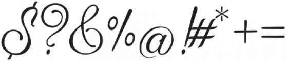 Hummington otf (400) Font OTHER CHARS
