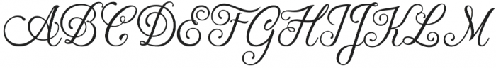Hummington otf (400) Font UPPERCASE