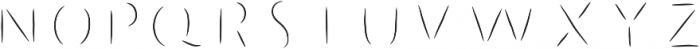 Humoresque 3 Chisel ttf (400) Font LOWERCASE