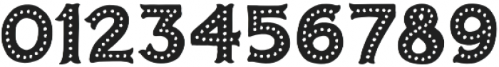Humoresque 5 Dots otf (400) Font OTHER CHARS