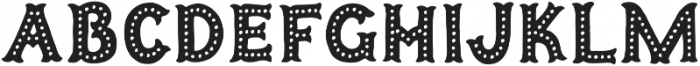 Humoresque 5 Dots otf (400) Font LOWERCASE