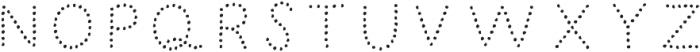 Humoresque 5 Dots ttf (400) Font UPPERCASE