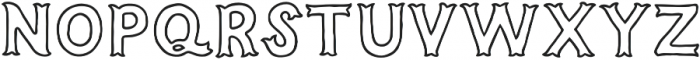 Humoresque A Inset otf (400) Font LOWERCASE