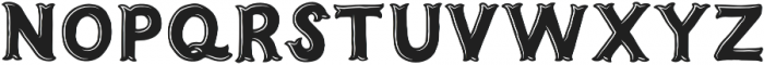 Humoresque B Engraved otf (400) Font UPPERCASE
