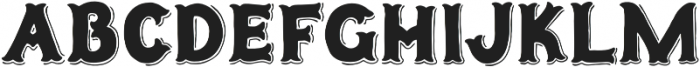 Humoresque LineShadow otf (400) Font UPPERCASE