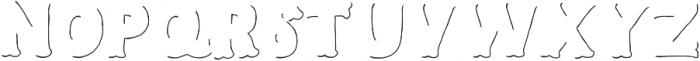Humoresque LineShadow ttf (400) Font UPPERCASE