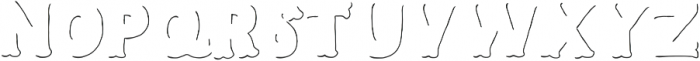 Humoresque LineShadow ttf (400) Font LOWERCASE