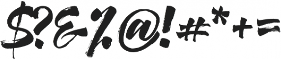 Humus otf (400) Font OTHER CHARS