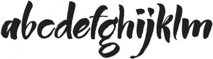 Humus otf (400) Font LOWERCASE