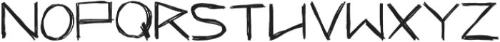 Hungry Hobo ttf (400) Font LOWERCASE
