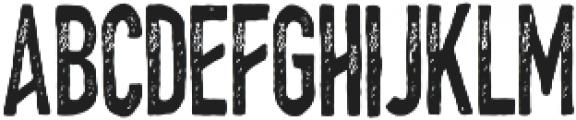 HungryChalk 1 otf (400) Font UPPERCASE