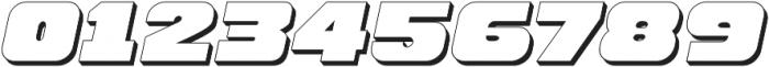 Hunk Outline otf (400) Font OTHER CHARS