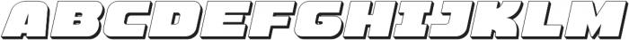 Hunk Outline otf (400) Font LOWERCASE