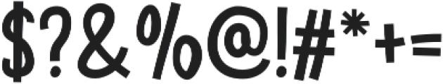 Hunky Dory otf (400) Font OTHER CHARS