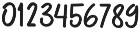 Hunny Straw Script otf (400) Font OTHER CHARS