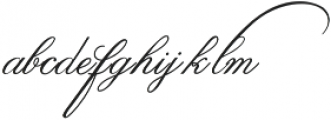 Hunteg otf (400) Font LOWERCASE