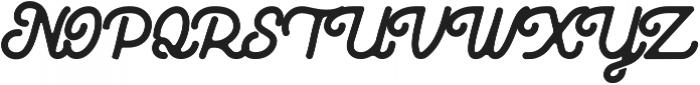Huntsman Rounded-Medium ttf (500) Font UPPERCASE