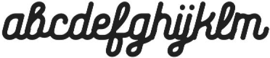 Huntsman Rounded-Medium ttf (500) Font LOWERCASE