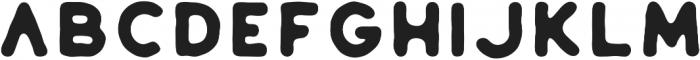 Huntsman Sans Serif Bold ttf (700) Font UPPERCASE