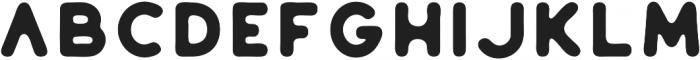 Huntsman Sans Serif Bold ttf (700) Font LOWERCASE