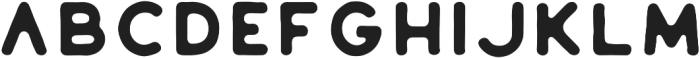 Huntsman Sans Serif Medium ttf (500) Font LOWERCASE