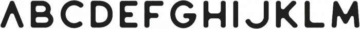 Huntsman Sans Serif Regular otf (400) Font UPPERCASE