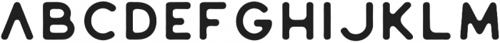 Huntsman Sans Serif Regular otf (400) Font LOWERCASE